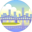 Brisbane city icon