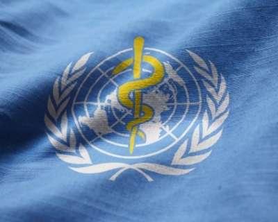 World health organisation Flag