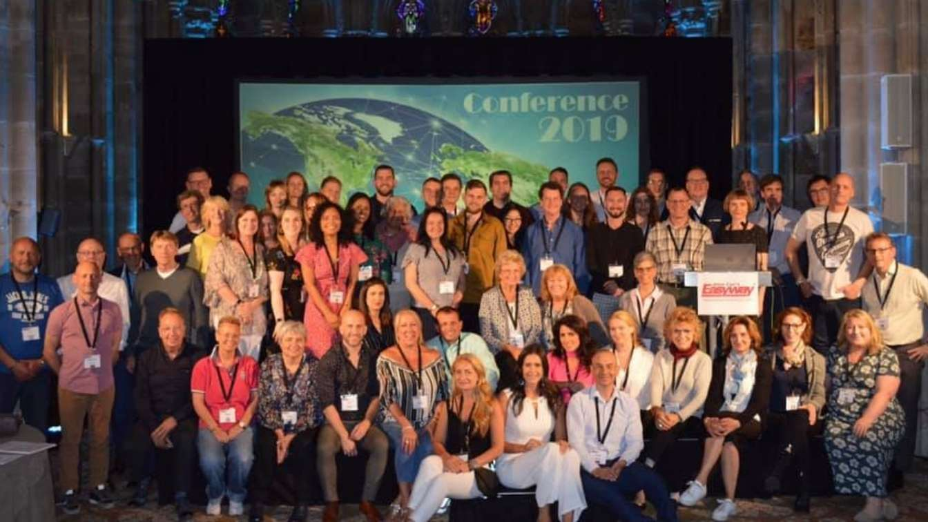Allen Carr team photo at UK conference 2019